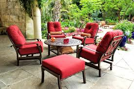 metal patio furniture sets used wrought iron patio