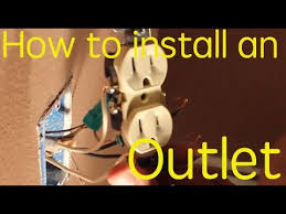 how to install an electrical outlet loop wiring example