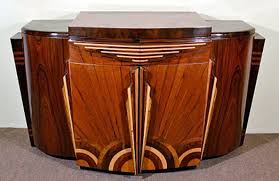 Image Wood Modular Furniture Made Its First Appearance With Art Deco Separate Pieces With Curve Edges That Fit Together Became Popular The Style Was Bold And The Antiques Almanac The Chic Luxury Of Art Deco Furniture