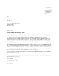 9 Social Work Cover Letter Sample Offecial Letter