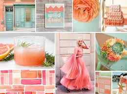 Great Coral Colored Wedding Decorations 1000 Images About Wedding Colors  Coral Amp Mint On Pinterest