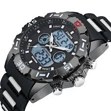 Stryve Luxury Brand <b>Sport</b> Watch Men <b>Military Big Dial</b> Waterproof ...