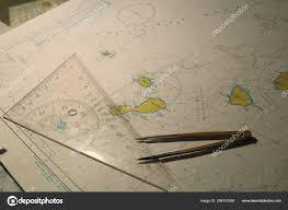 Sea Map Nautical Chart Kurile Islands Sea Okhotsk Tools