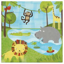 oopsy daisy too safari canvas wall art on safari canvas wall art with buy safari canvas wall art from bed bath beyond