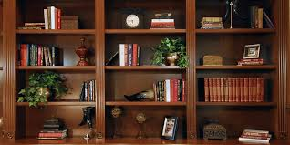 home office library. Home Office Library Custom Wall Unit Stained