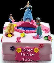 Buy line Disney Princess Birthday Cake for Girls from Guntur