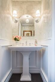 elegant powder rooms powder room traditional with chrome white ceiling-