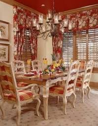 image result for french country table and chairs red