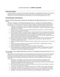 Enterprise Architect Resume Sales Architect Lewesmr