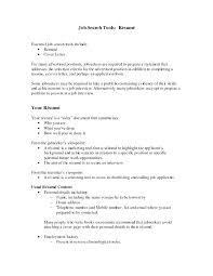 Examples Of Resumes Objectives How To Write A Career Objective On