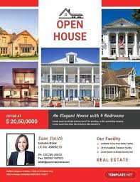 Home Flyers Template Free Open House Flyers Free Broker Open House Flyer Template