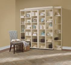madison bifold bookcase bed contemporary bedroom dallas by inside murphy library unit design 13