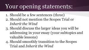 inherit the wind final essay prompt is it worth it to study  13 your