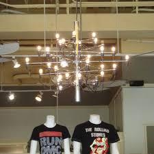 flos model 2097 30 small modern chandelier by gino sarfatti