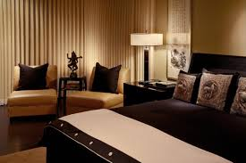 Black And White Bedroom With Brown Furniture Raya Furniture - Beige and black bedroom