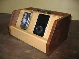 wooden cell phone charging station plans how to build cell phone charging station woodworking plans