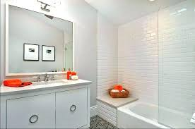 bathroom subway tile. Subway Tiles Bathroom Modern With Tile Gray Light . Kitchen