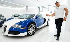 He has got three of 'em currently, including the special chiron we're seeing here. Manny Khoshbin Just Bought Yet Another Bugatti Veyron The Supercar Blog