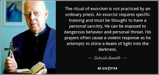 Exorcist Quotes Unique TOP 48 QUOTES BY GABRIELE AMORTH AZ Quotes