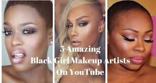 5 amazing black makeup artists on you