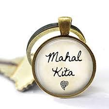 mahal kita keychain i love you alog philippines keychain mahal kita key ring