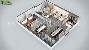 office floor plan maker. Modern Office 3D Floor Plan Design Maker A