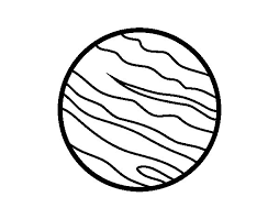 Small Picture Jupiter planet coloring page Coloringcrewcom