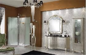 luxury bathroom furniture. Luxury Classic Bathroom Furniture From Lineatre : With Silver Vanity Design Sleek Floor Brown O