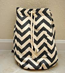 drawstring backpack with a front pocket