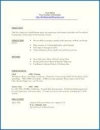 restaurant resume objective objective for resume restaurant embersky me