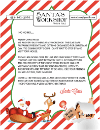 Free Printable Letters From Santa Pdf Download Them Or Print