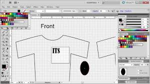 T Shirt Design Adobe Illustrator Cs6 2 5 Designing A T Shirt Adobe Illustrator Cs5 Illustrator