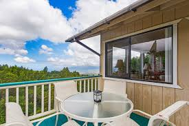 Dine and relax on either lanai.