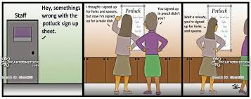 Potluck Sign Up Potluck Suppers Cartoons And Comics Funny Pictures From Cartoonstock