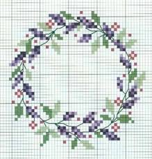 Cross Stitch Flower Patterns Cool 48 Floral Wreath CrossStitch Patterns