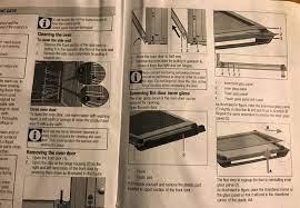 how to replace beko oven door glass