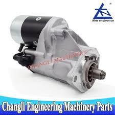 Toyota Forklift Parts Starter Motor For Toyota 1z 2z 1rz 2j Engine ...