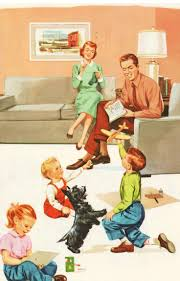 best ideas about nuclear family vintage family life of a 50s housewife