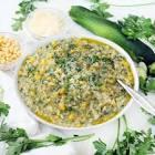 baked tuna and zucchini risotto