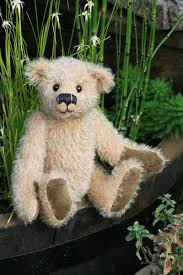 Teddy Bear Sewing Pattern Beauteous Makepeace PRINTED Traditional Jointed Mohair Teddy Bear Sewing