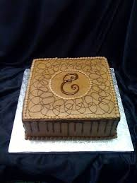 6 Simple Grooms Wedding Cakes Photo Simple Grooms Cake With