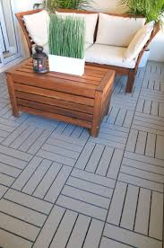 runnen decking outdoor gray