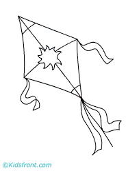 Small Picture Kite Coloring Pages Printable