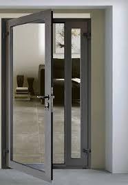 Aluminum Casement Exterior Door Kitchen Door Designs, Kitchen Doors,  Kitchen Windows, Aluminium Glass