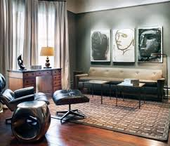 Living Room: Industrial Bachelor Pad Living Rooms - Masculine Living Rooms