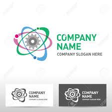 Engineering Logo Design Inspiration Engineering Logo Design Vector Illustration