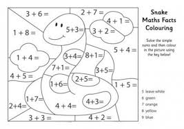 printable math addition coloring worksheets them and try to solve
