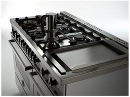double oven gas range with griddle. Modren Double PRO486GGASX01 Bertazzoni Professional Series 48 To Double Oven Gas Range With Griddle V