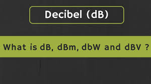 Dbm Vs Watts Chart Decibel Db What Is Db Dbm Dbw And Dbv In Electronics Difference Between Db And Dbm