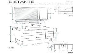 standard bathroom vanity height. Standard Vanity Sizes Bathroom Height Canada A